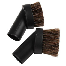 Useful Horse Hair Blk Dusting Brush Tool Attachment Vacuum Cleaner Round