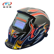 Manufacturer price Battery Replaced auto Darkening Power Face Type Welding Helmet Mask Solar Protective Grinding HD05(2233FF)GB