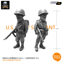 1/16 resin soldiers birds Yamamoto comic version of the bulk of the World War II US Army model element Y-A22