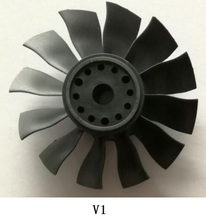 12 Blade Fan for FMS 70mm Yak130 RC Hobby FMS088
