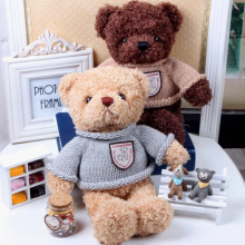 1pieces 28cm 40cmCartoon Plush Tatty Teddy Bear Toys Jumbo Stuffed Dolls me to you Bears valentine's day Baby&Kids Gift