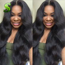 7A Cheap Body Wave Lace Front Human Hair Wigs Virgin Brazilian Hair Full Lace Wigs Glueless Human Lace Front Wigs With Baby Hair