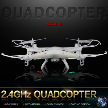 Drone with Camera 2.4G 4CH 4D Droll Big Remote Control Toy 2MP Drone Camera FPV RC Aerial Quadrocopter