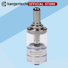 Kangertech Genitank mega atomizer set 3.5ml clearmoizer Airflow Control glass clear genitank Atomizer Free Ship