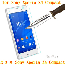 Buy Z4 Compact 9H Premium Tempered Glass Sony Xperia Z4 Compact Xperia Z4 MINI case Screen Protector Film Sony Z4 Compact for $3.58 in AliExpress store