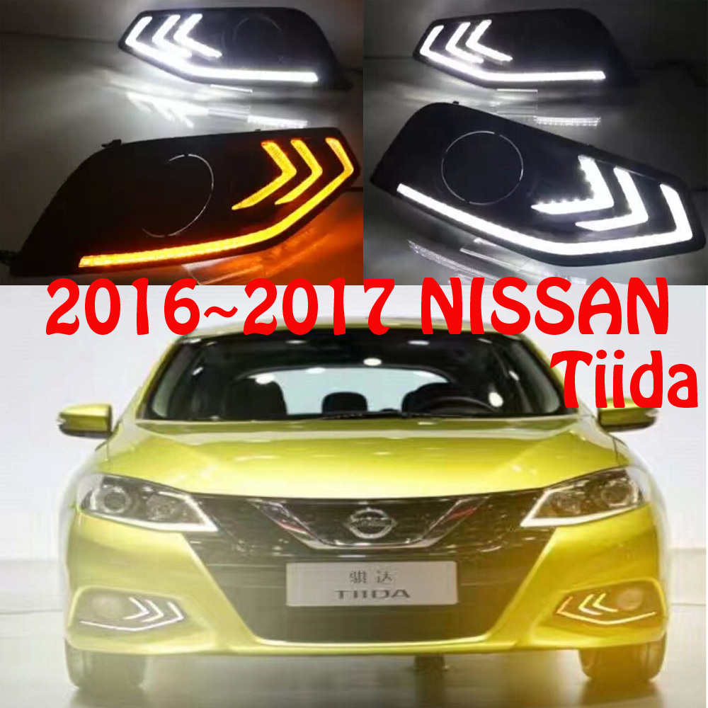 2016 2017year Tiida daytime light,Free ship!LED,Tiida fog light,2ps/set;LATIO,PULSAR fog light,Titan,patrol,pintara,platina<br>
