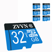 blue micro sd card 128gb TF card Real capacity memory card 8GB 16 GB 32 GB 64GB Flash Memory Microsd micro SDHC UHS-I