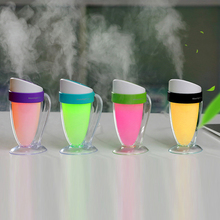 USBUltrasonic Air Humidifier essential oil Aroma Diffuser Humidifier AtomizerCreative night light small humidifierMoonlight cup