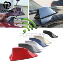 Car Truck Van Roof Shark Fin Antenna Radio Signal Aerial Universal for BMW/Honda/Toyota/Hyundai/VW/Kia/Nissan Car Styling(China)