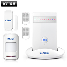 Newest KR-G15 Wireless Alarm Systems Security Home Burglar Alarm System Android ios APP Controlled GSM 850/900/1800/1900MHz(China)