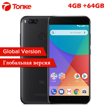 "Global Version Xiaomi Mi A1 MiA1 4GB RAM 64GB ROM Snapdragon 625 Octa Core 5.5"" FHD 12MP Dual Camera Fingerprint ID Mobile Phone(China)"