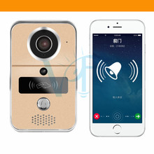 Wireless WIFI ID Card Password Video Door Phone Doorbell Intercom System Night Vision Waterproof Access Control System VF-DB04(China)