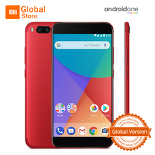 "Global Version Xiaomi Mi A1 MiA1 4GB 64GB ROM Mobile Phone Snapdragon 625 Octa Core 5.5"" B20 Dual 12.0MP Android One FDD LTE 4G(China)"