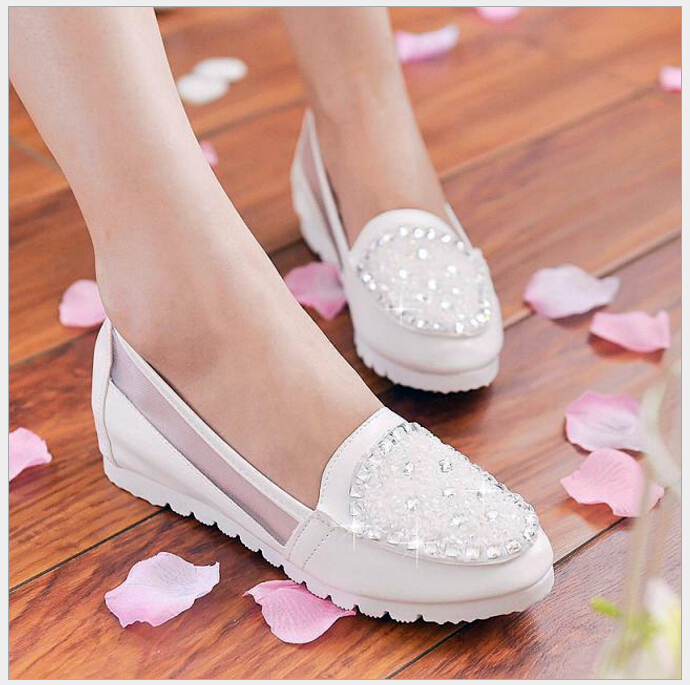 Free Shipping 2017 new fashion Round Toe breathable doug shoes women flat shoes and womens spring summer shoes<br><br>Aliexpress