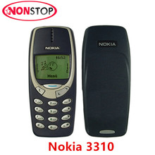 3310 Original Unlocked Nokia 3310 GSM Mobile phone Refurbished Good Nokia Cellphone Free shipping(China)