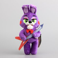 "NEW FNAF Five Nights at Freddy Rabbit with Guitar Plush Toy Cute Rabbit Stuffed Animals 9"" 23 CM"