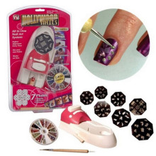 Nail Set.Nail Art Equipment Tools.Beauty Salon Express Nail Polish DIY Design Kit Stamp Stamping Nail All Decoration