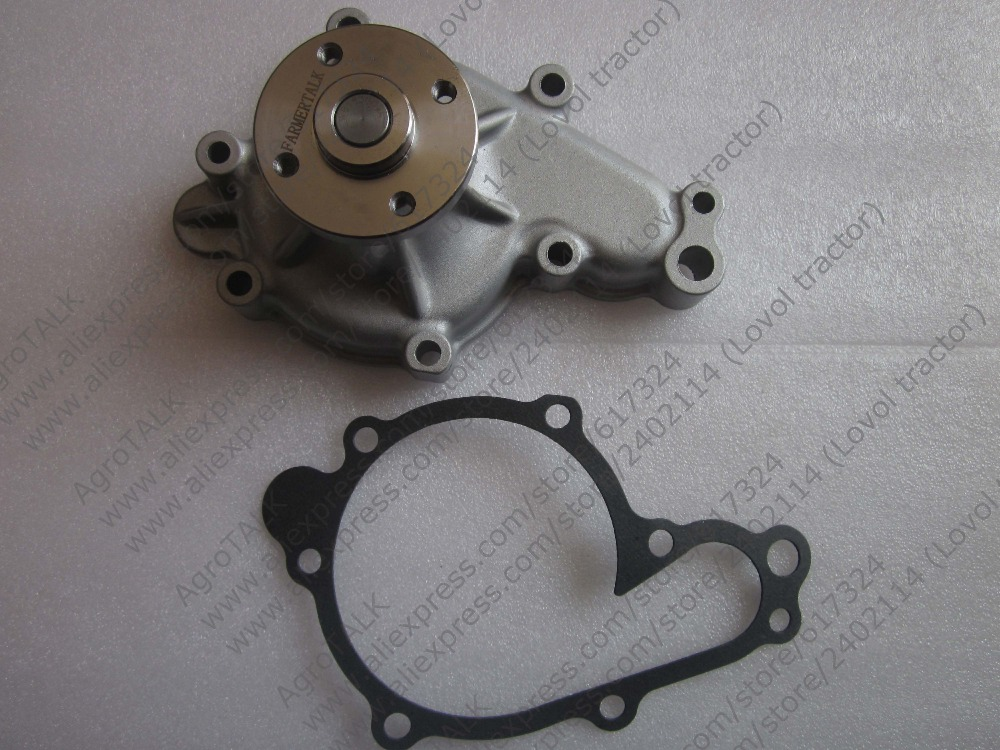 Kubota water pump with OEM number:1G772-13122 1G772-73032<br>