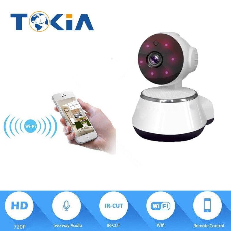 PT wifi camera 720P Night Vision IP Camera Infrared Two Way Audio Baby Camera Monitor Night Vision Xmeye IP Camera<br>