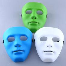 Scary Face Halloween Masquerade DIY Mime Party Cosplay Costume Dressing Mask halloween Mask