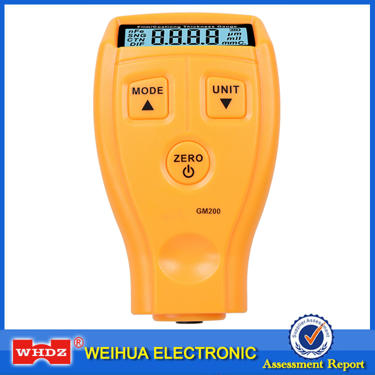 WHDZ GM200 Ultrasonic Film Coating Mini Thickness Gauge Tester Car Coating Thickness measure Paint Thickness Gauge Tester Meter<br><br>Aliexpress