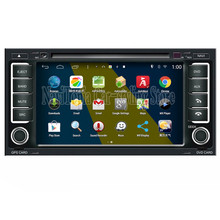 NaviTopia Brand New 7inch Quad Core 1024*600 Android Car PC for VW Touareg Car DVD Multimedia Player(China)