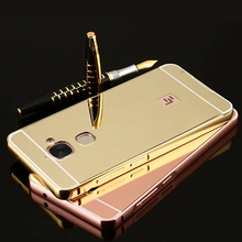 Luxury Acrylic Aluminum Metal Mirror Case For Letv 1s Letv 2 Letv Pro2 Letv Max2 Untra Thin Mobile Phone Bag Case Back Cover