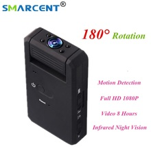 SMARCENT MD90 Mini DV Camera 1080P Infrared Night Vision Nanny Digital Micro Cam Motion Detection Mini Camcorder Camera pk SQ11(China)