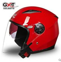 GXT G512 dual visor dirt biker helmets for women, electric motorcycle  MOTO bicycle scooter safety helmet headpiece red pink