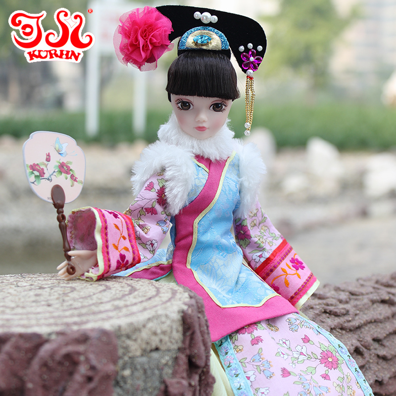 Free shipping 29cm11 Chinese princess ancient costume doll national costume holiday and birthday favorite gifts toy decoration<br><br>Aliexpress