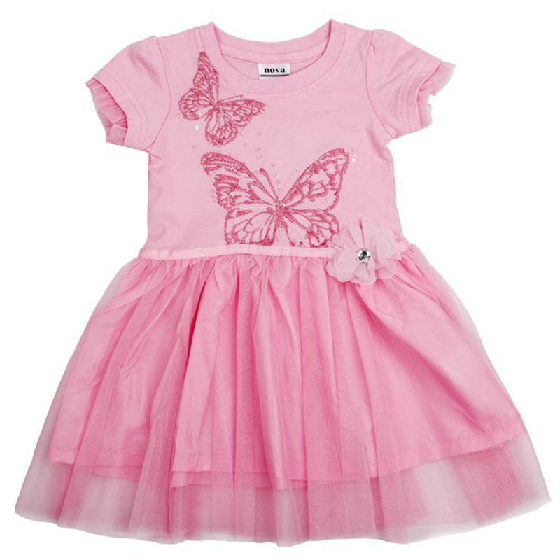 Girls casual dresses nova kids girl dress summer cartoon character baby dresses childrens clothes baby frocks butterfly dress<br><br>Aliexpress