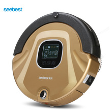 Seebest C565 EVE 2.0 As Seen On TV Robot Vacuum Cleaner Anti Collision Anti Fall,LCD Screen,HEPA Filter,Auto Clean(China)