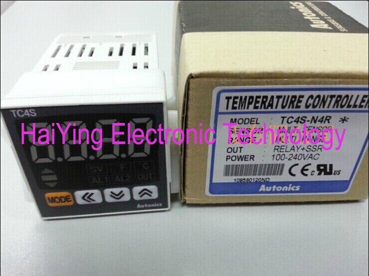 New and original    TC4S-N4R   AUTONICS  Temperature controller   100-240VAC    RELAY+SSR OUT<br>