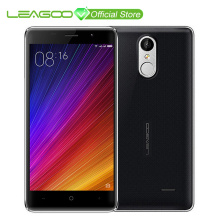 Original LEAGOO M5 5inch Smartphone Android 6.0 MTK6580 Quad Core 2GB RAM 16GB ROM Dual Sim GPS Fingerprint 3G Mobile Phone(China)