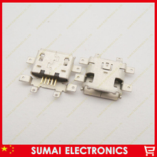 Micro 5-pin USB Charger Connector Charging Port For Motorola Droid X MB810 ect 50pcs/lot