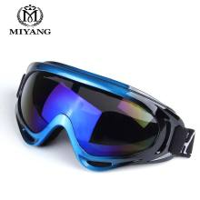 Outdoor Ski Goggles Double UV400 Anti-fog Big Ski Mask Glasses Skiing Men Women Snow Snowboard Goggles HX-X400(China)