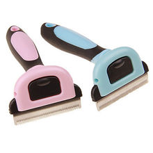 Cat Dog Pet Hair Remover Shedding Grooming Brush Comb Vacuum Cleaner Trimmer
