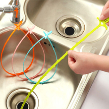 4pcs Bathroom Hair Sewer Filter  Cleaners Outlet Kitchen Sink Drian Filter Strainer Anti Clogging Floor Wig Removal Clog Tools