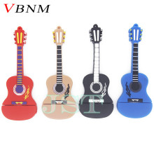 VBNM cute mini guitar usb flash drive pen drive cartoon 4GB/8GB/16GB violin usb stick U disk memory card free shipping(China)