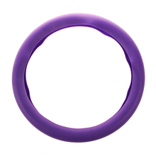 Car steering wheel cover STEERING WHEEL Leather Texture Soft Cover Skin HOT purple
