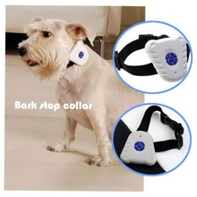1pcs Pet Control Collar Train Training Device Ultrasonic Dog Anti Bark No Stop Barking Brand New