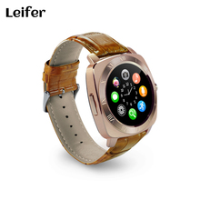 Leifer Smart Watch X3 Smartwatch Pedometer Fitness Clock Camera SIM Card Mp3 Player man for IOS Android Watchphone PK U8 DZ09