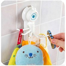 1pc Kitchen Bathroom Powerful Wall Sucker Vacuum Suction Cup Hook Hanger 13*8*5.7cm Best Selling