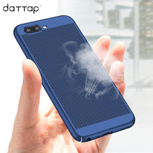 daTTap Heat dissipation Case Oneplus 5 Case Hard Back PC Full Cover Cases Oneplus 5 One Plus 5 Protective Shell Fundas