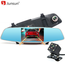 "Junsun H320 Car Camera Recorder Mirror Registrator 5"" IPS with ADAS LDWS Full HD 1080P Dash Cam DVR Video Super Night Vision"