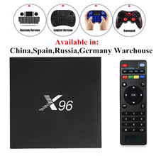 X96 Smart TV Box Android 6.0 Amlogic S905X 2.0GHz Max 2GB RAM 16GB ROM 5G WIFI HD Bluetooth 4.0 Set Top BOX Media Player PK A95X