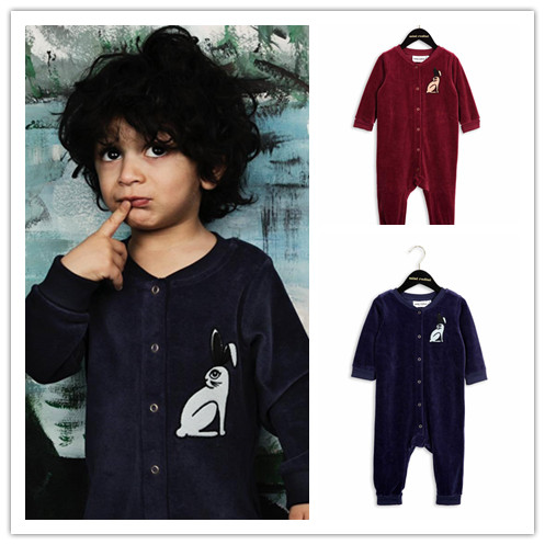 INS 2017 RABBIT BABY BOY CLOTHES BABY GIRL CLOTHES BABY ROMPERS RABBIT ROMPERS VESTIDOS KIDS CLOTHES CHRISTMAS CLOTHING<br><br>Aliexpress