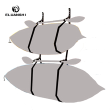 Black device Webbing Hanger Strap of 2 storage Surfboard drying SUP surf water sports kayak fishing Boat accessories fins paddle(China)