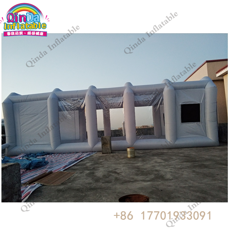 inflatable spray booth40