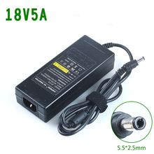 18v 5a switching power supply 18v5a 18v ac dc adapter power supply 90w ac dc adapter5.5*.2.1